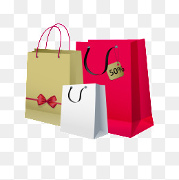 Shopping Bag, Shopping Bag, Paper Bags, #9416.