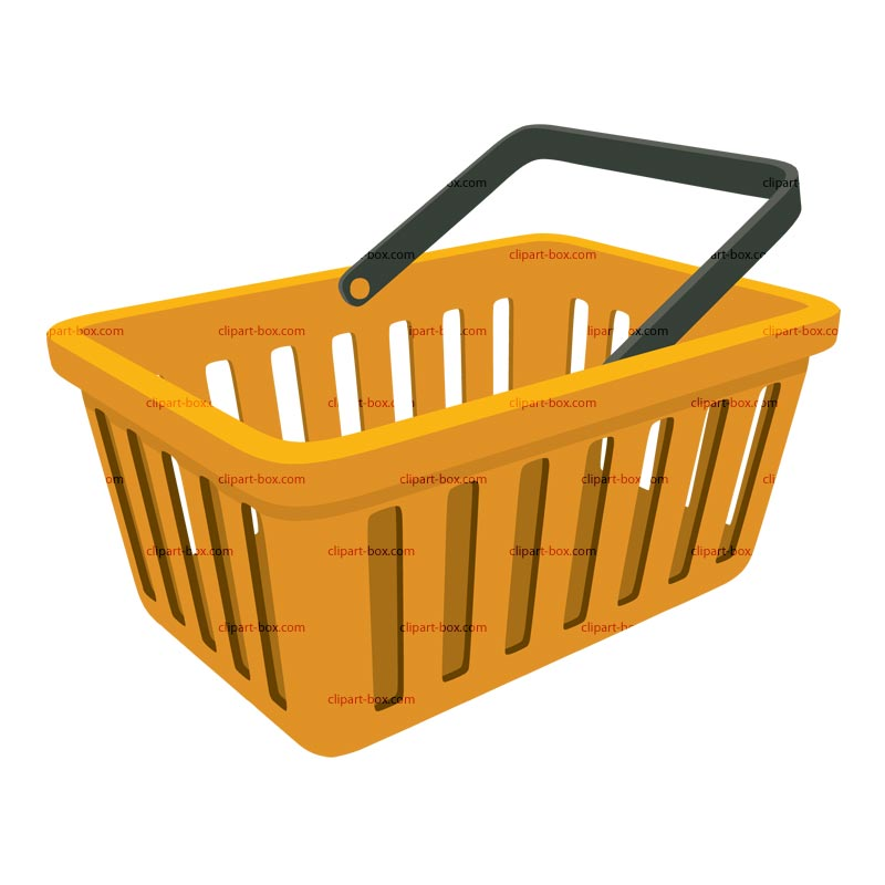 Shopping Basket Clipart Clipground