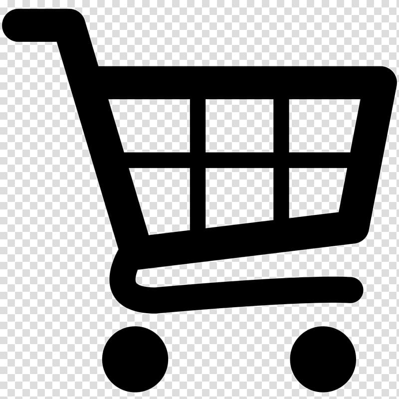 Black shopping cart illustration, Shopping cart Computer.