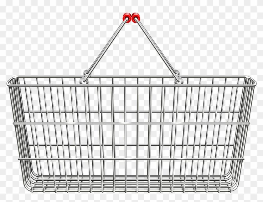 Shopping Basket Png, Transparent Png.