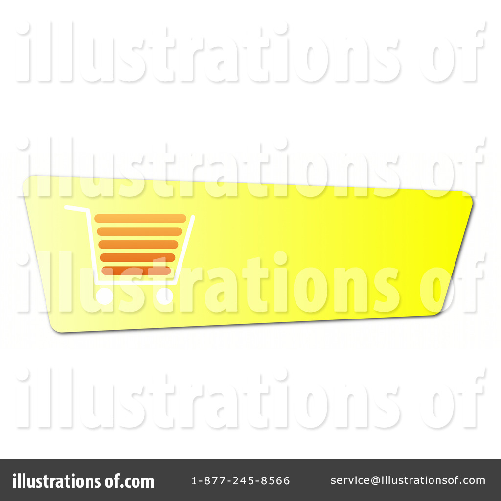 Shopping Cart Button Clipart #1064996.