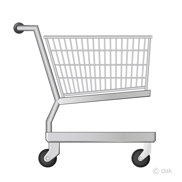 Shopping Cart Clipart Free Picture|Illustoon.