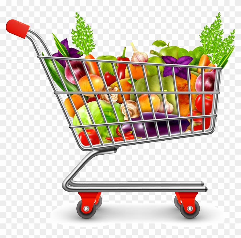 Icon Supermarket Cart Transprent Png Free.