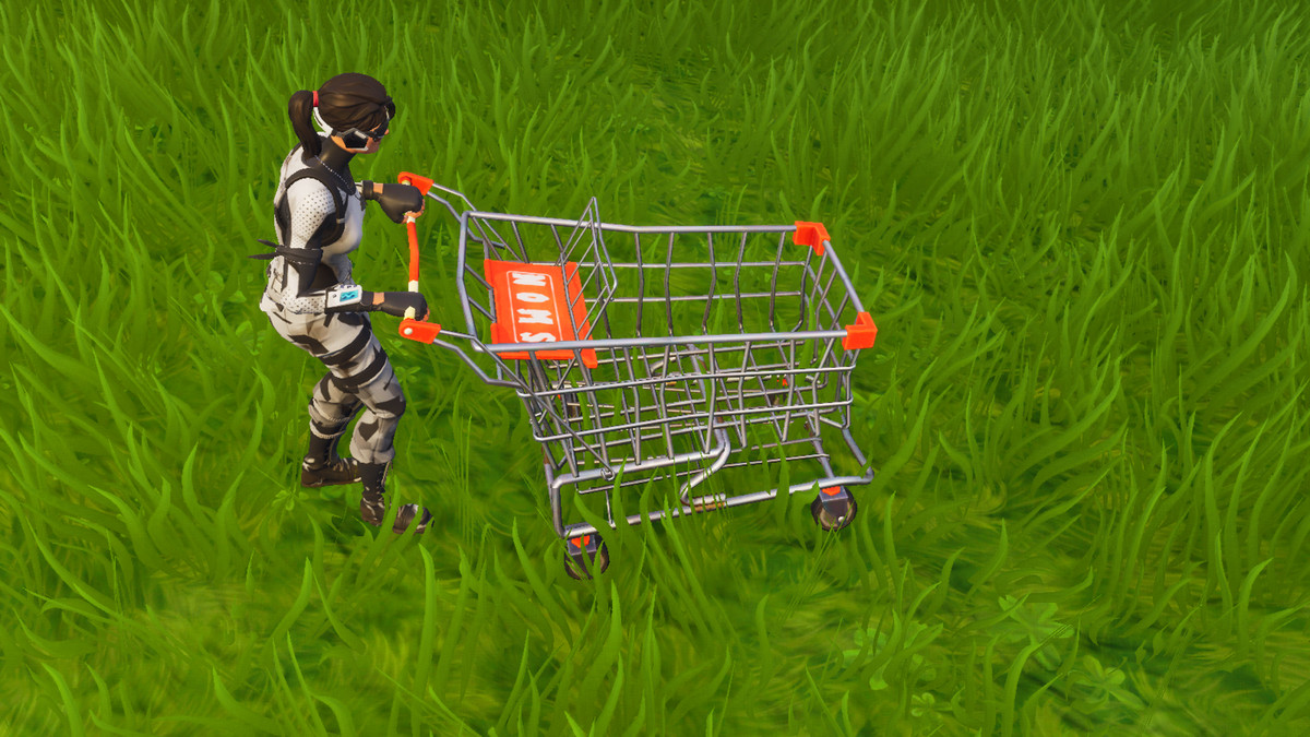 How to use the Fortnite shopping cart.