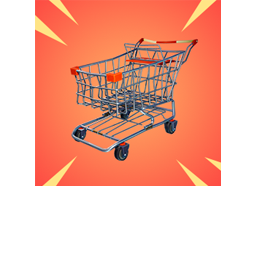 Fortnite Shopping Cart Png.