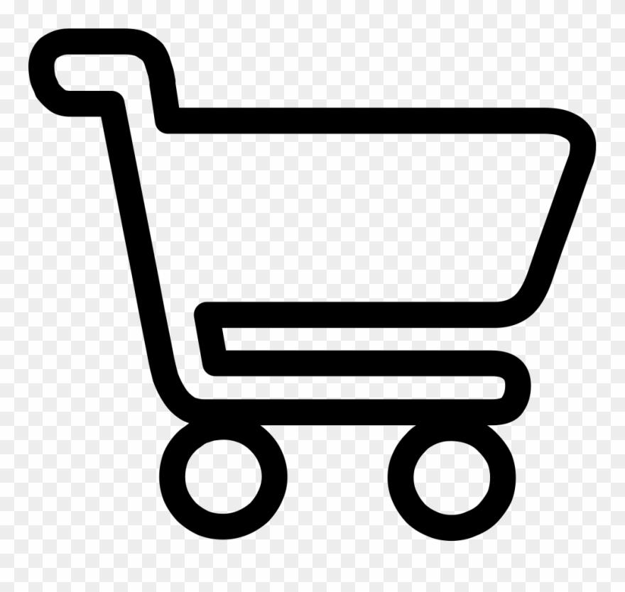 Shopping Cart Logo Png White Clipart (#831322).