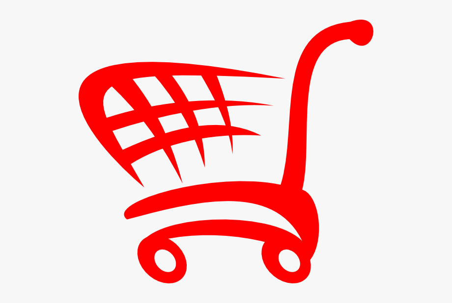 Shopping Cart Logo Red , Transparent Cartoon, Free Cliparts.