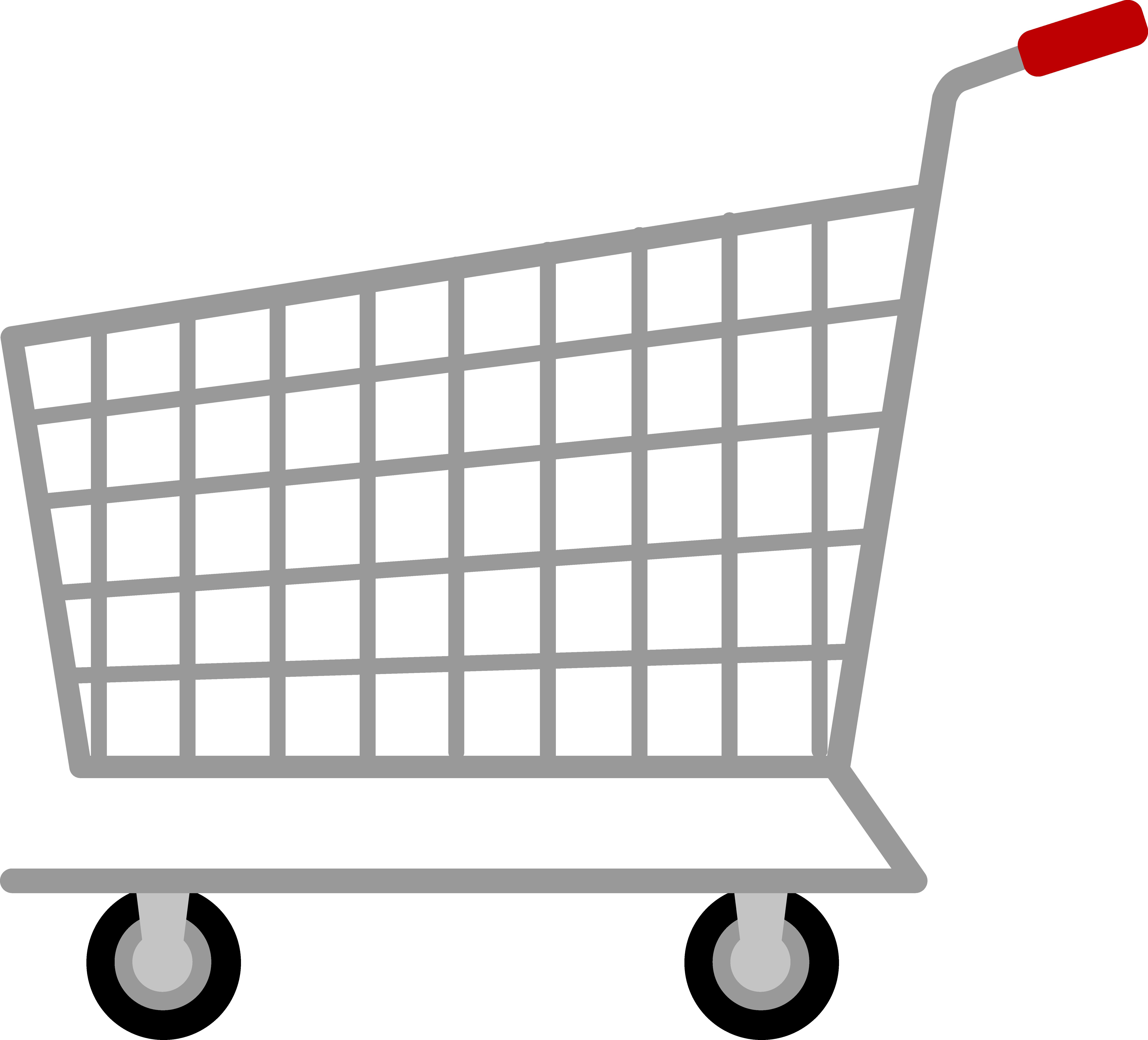 Shopping Cart PNG Image.