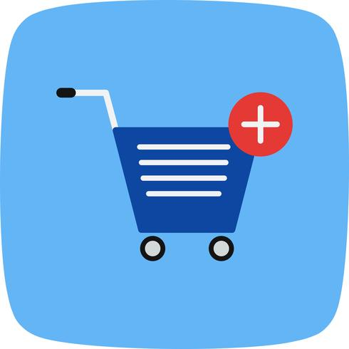 Vector Add to Cart Vector Icon.