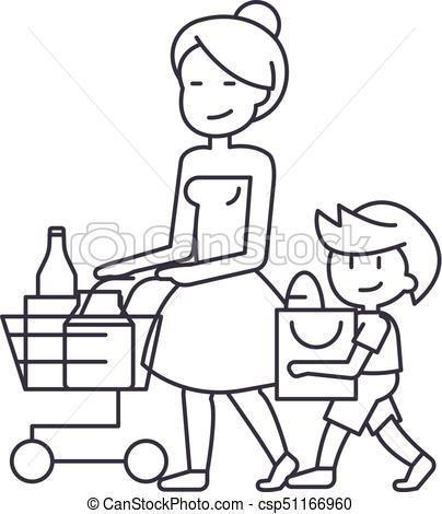 Shopping clipart black and white 3 » Clipart Portal.