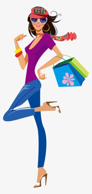 Shopping Girls PNG & Download Transparent Shopping Girls PNG.