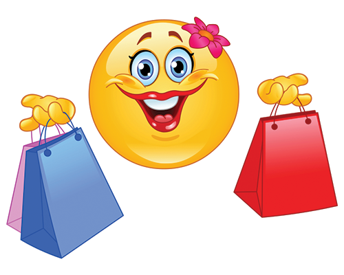 Shopping Smiley.