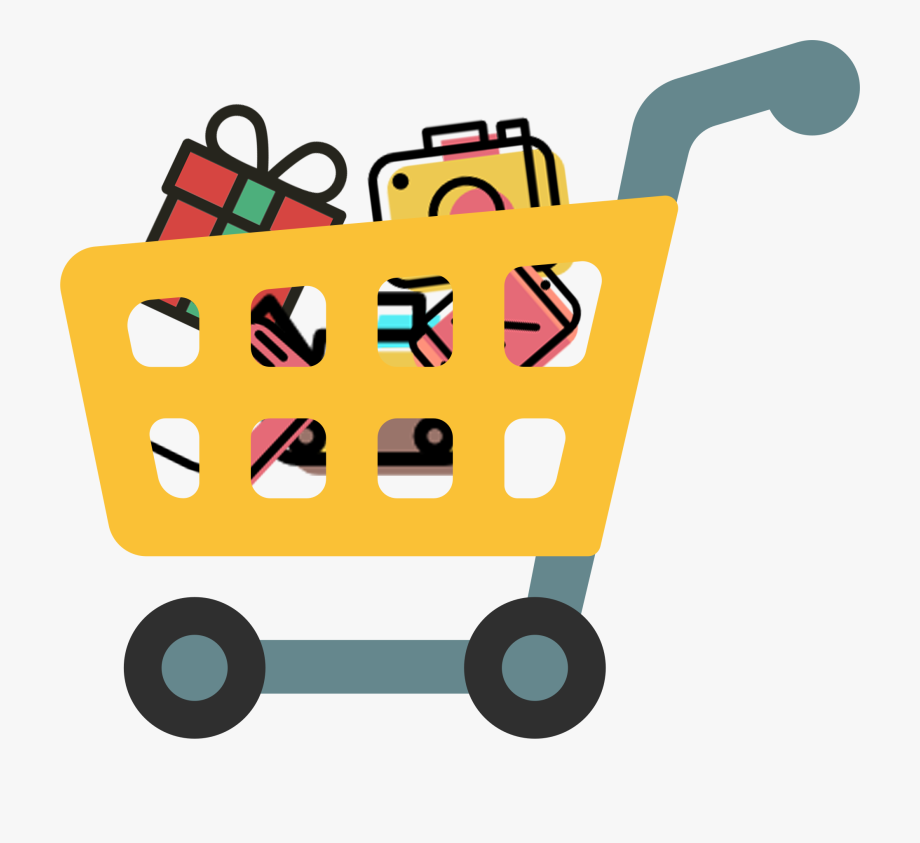 Shopping Cart Flag Emoji , Transparent Cartoon, Free.