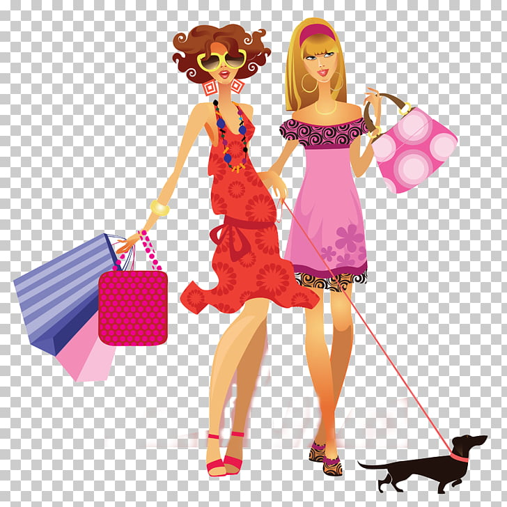 Woman Shopping graphics, woman PNG clipart.