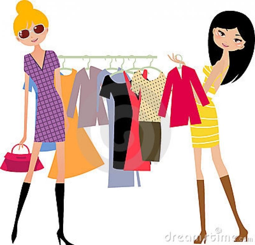 Fashion shopping girl stock image image 11800691 with.