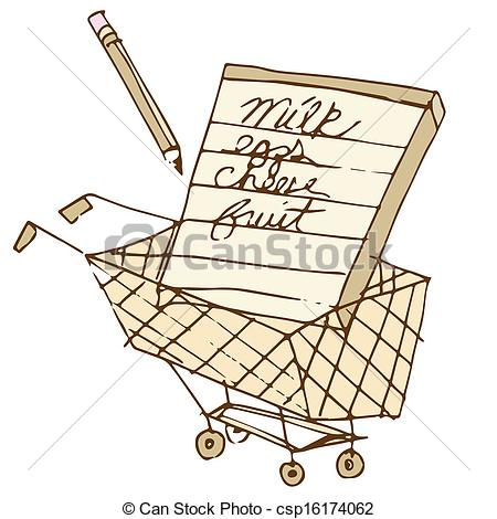 Shopping list Vector Clipart EPS Images. 3,214 Shopping list clip.
