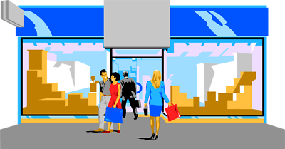Shopping Mall Clipart Png.