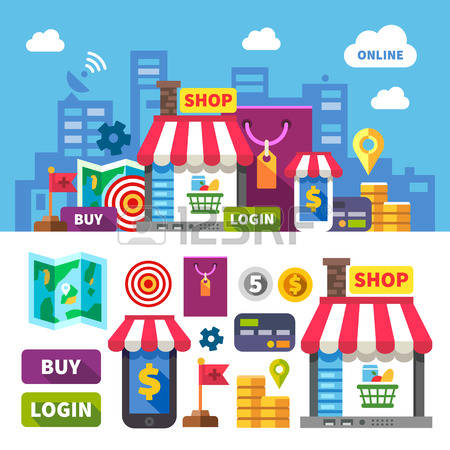 304,181 Stores Stock Vector Illustration And Royalty Free Stores.