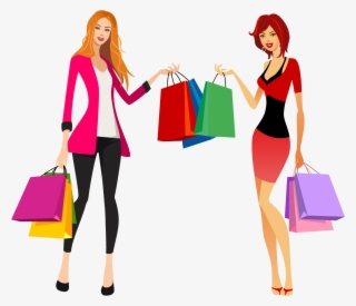 Shopping Girls PNG & Download Transparent Shopping Girls PNG.