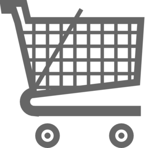Grey Shopping Cart Clip Art at Clker.com.
