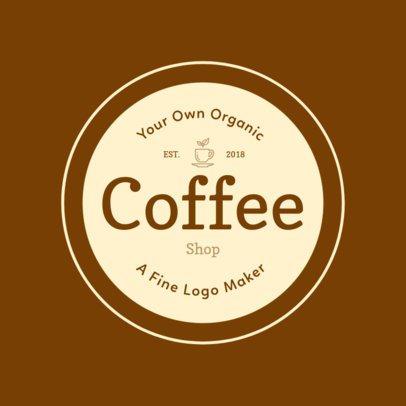 Coffee Shop Logo Maker.