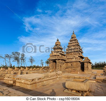 Stock Photography of Famous Tamil Nadu landmark.