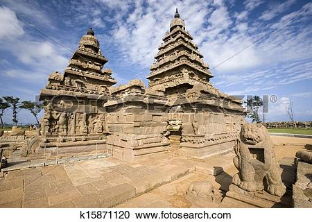 Stock Photography of Shore Temple.