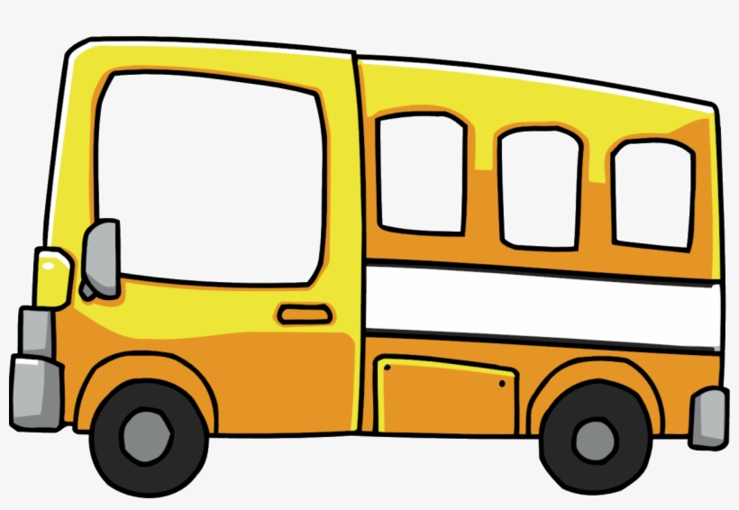 Royalty Free Download Short Bus Clipart.