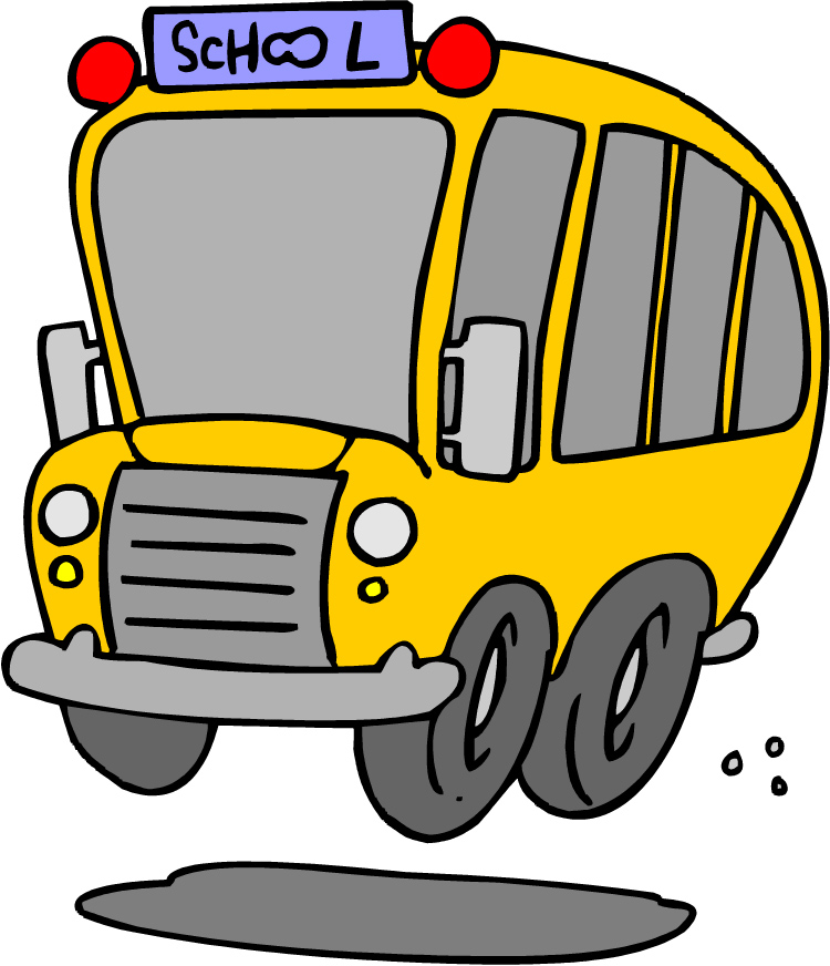 College Bus Clipart.