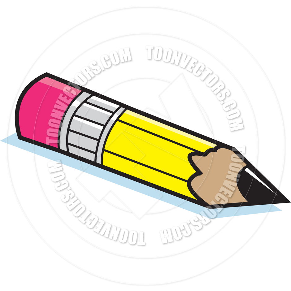 Long and short pencil clipart.