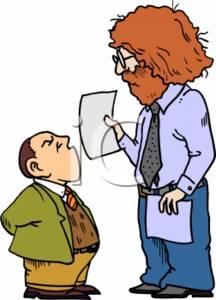 Short Person Clipart.