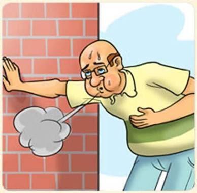 Breathing clipart shortness breath, Breathing shortness.