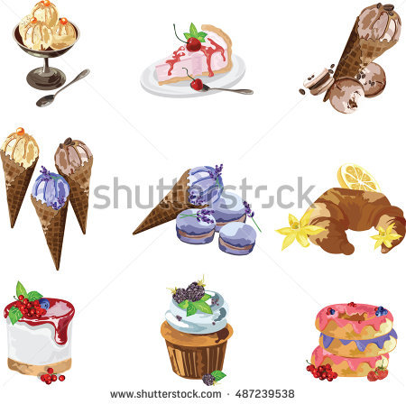 Short Pastry Stock Photos, Royalty.