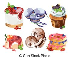 Short pastry Stock Illustration Images. 11 Short pastry.