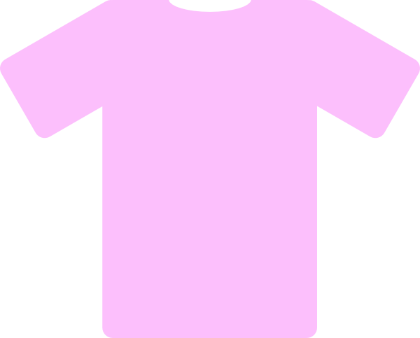 Pink Short Sleeve Shirt Clip Art at Clker.com.