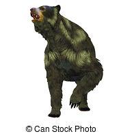Short faced bear Stock Illustration Images. 12 Short faced bear.