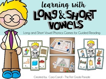 Learning with Long & Short Vowels (Small Group Phonics Games).