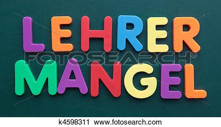 Stock Photography of Teacher shortage k4598311.