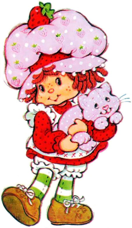 Strawberry Shortcake Clipart.