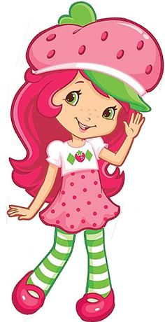 Clipart strawberry shortcake.