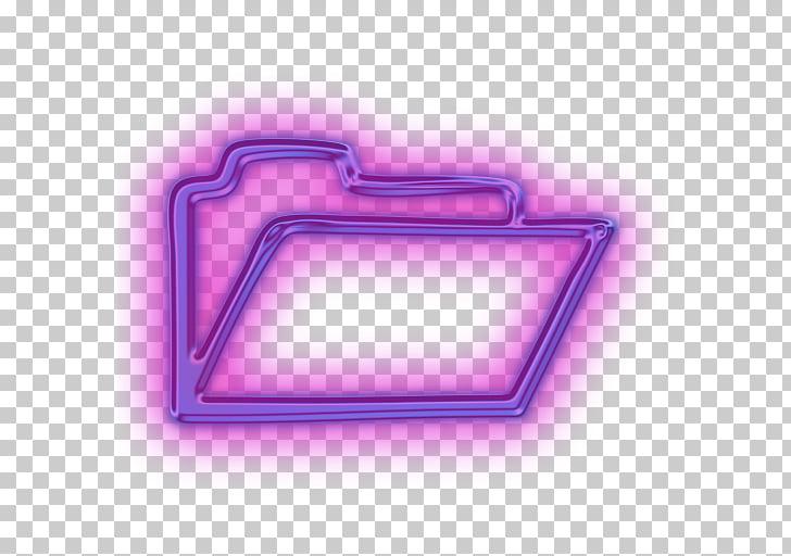 Computer Icons Directory Shortcut, Purple Folder Full Icon.