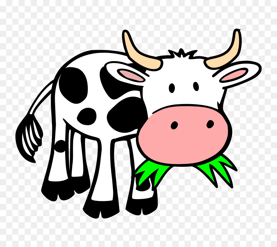 Cow Background png download.