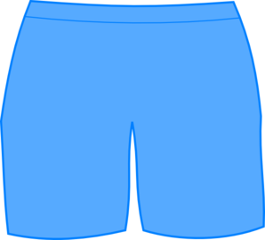Shorts Clipart Black And White.