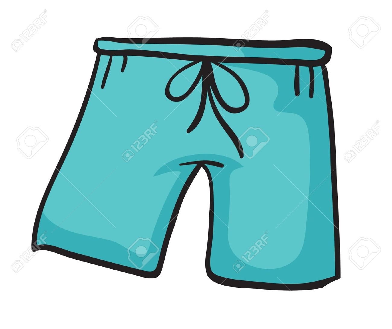 Shorts clipart free.