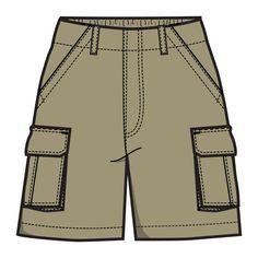 Shorts Clip Art.