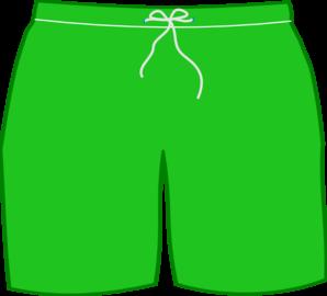 Green Swim Shorts Clip Art at Clker.com.