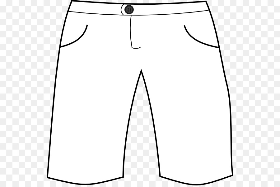 Shorts clipart pants line.