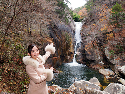 Enjoy the nature and food culture of Kofu..