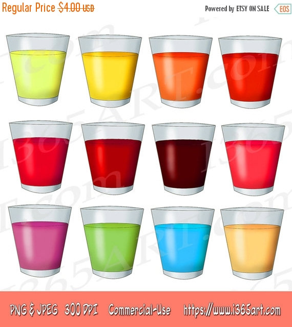 Drinks clipart.