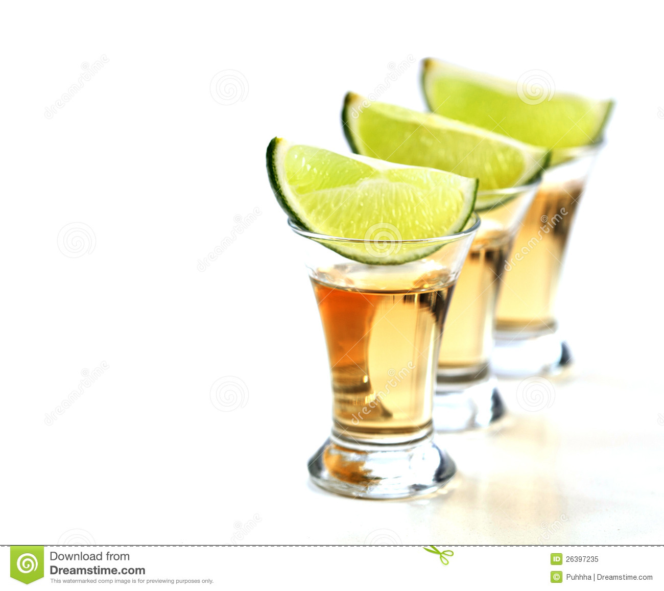 Tequila Shots Royalty Free Stock Photo.
